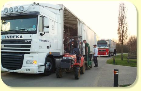 Transport nach Polen